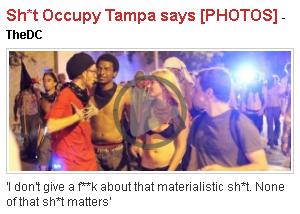 Asterisks Occupy Says