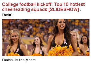 Penetrating (ha!) Football Coverage