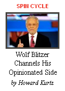 Wolf Blitzer - The One Sided Man