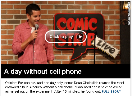 Cell Phone Catastrophe
