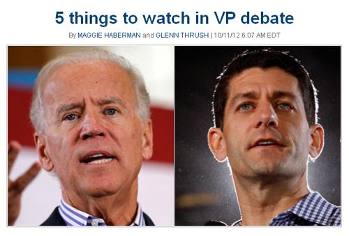 5 Dumb Things (Politico)