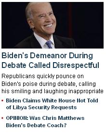 Disrespectful Biden