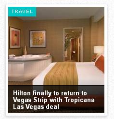 Hilton in Vegas . . . Ewww.