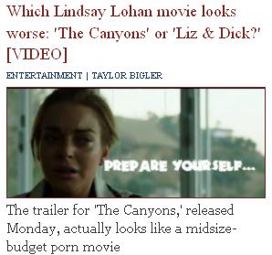 Lohan 'Porn'=Pageviews Galore!