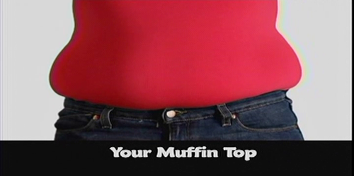 Photoshop Muffin Top