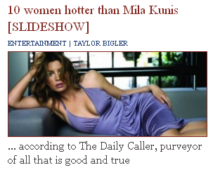 Rot in Hell, Mila Kunis, Tucker Never Thought You Were Hot