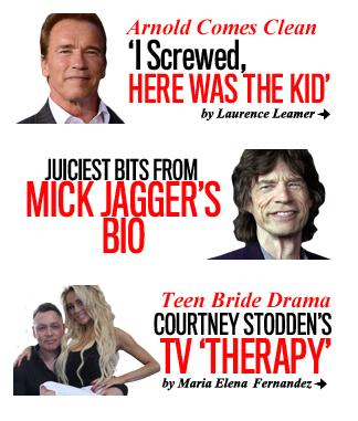 Schwarzenegger & Jagger Wed Headless Teen Bride
