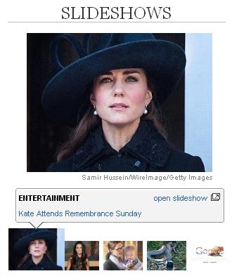 Cavalcade of Celebrity Mourners