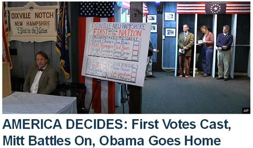 Obama Goes Home